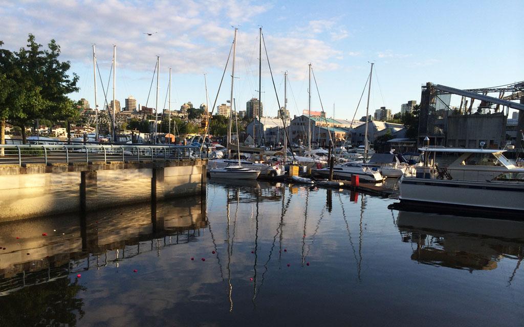 Yaletown-Marina-Sunset