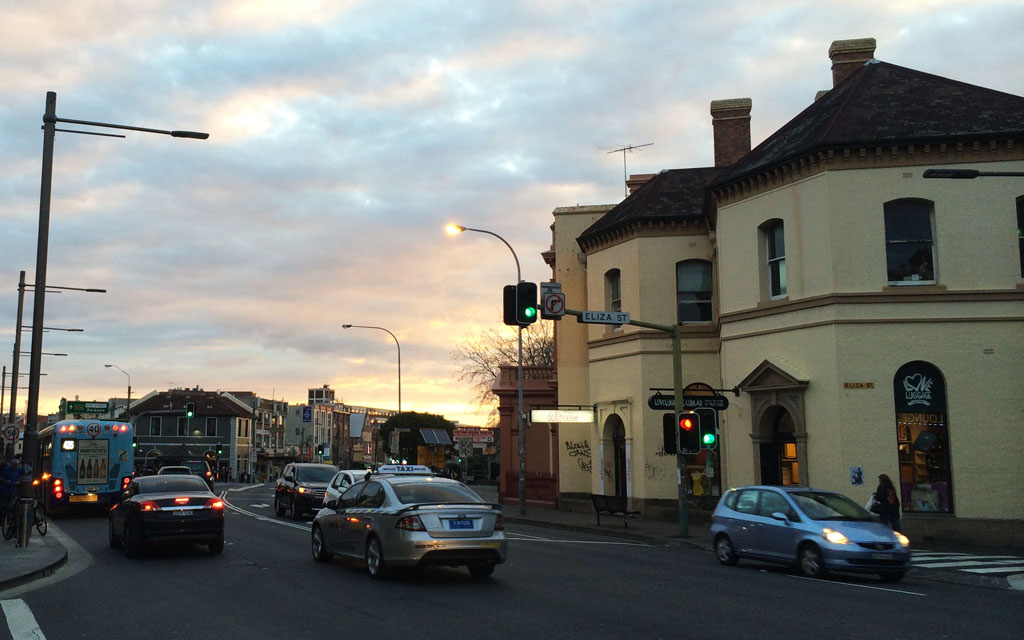 Newtown-Sunset
