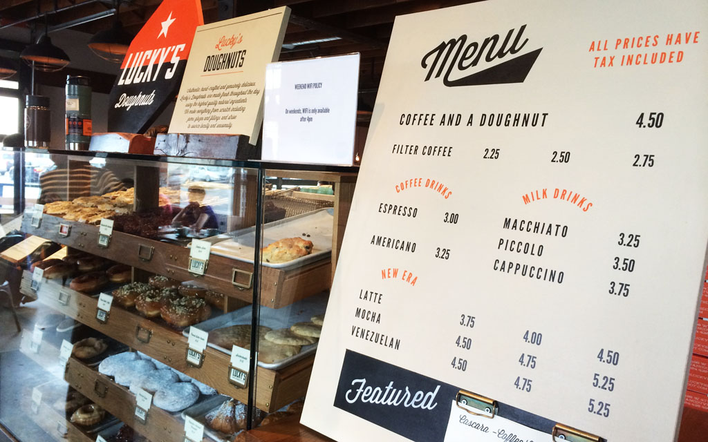 49th Parallel Amp Lucky S Doughnuts