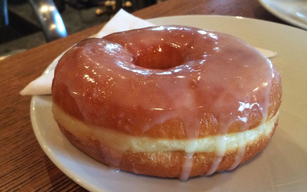 vanilla_glaze_doughnut_Lucky's_Doughnuts_Vancouver